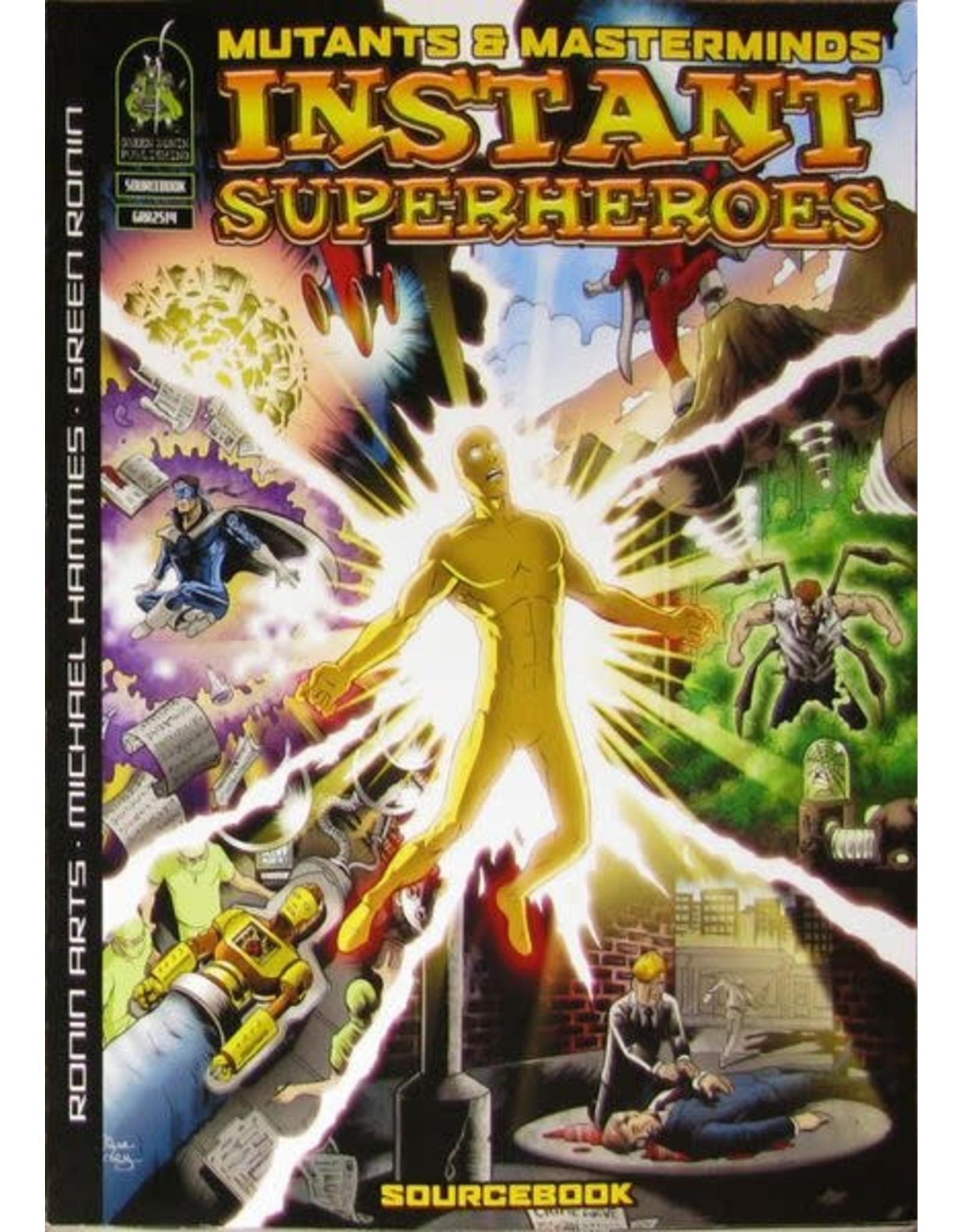 Green Ronin Publishing SALE - Mutants & Masterminds 2E: Instant Superheroes