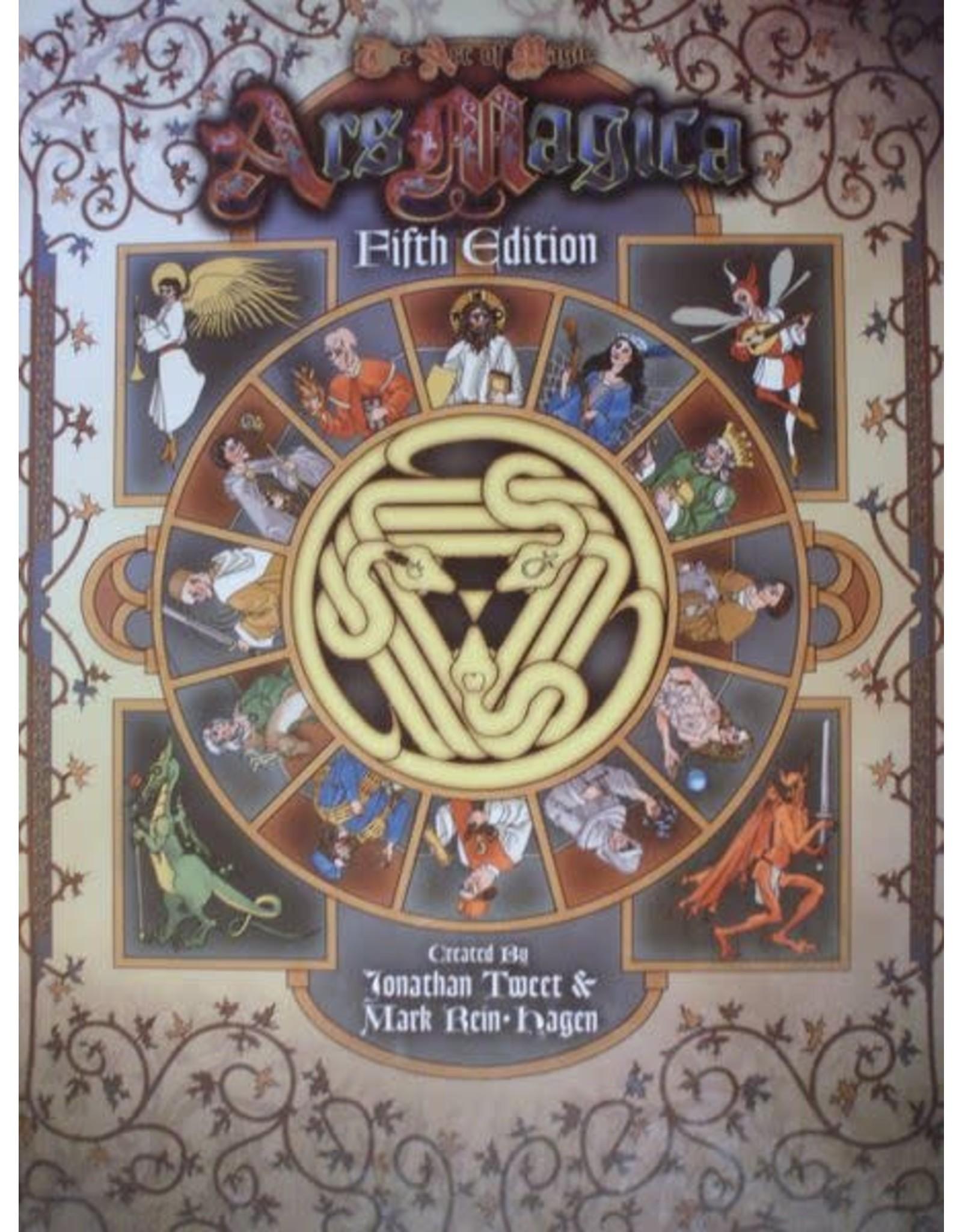 Atlas Games Ars Magica 5E: Core Rulebook