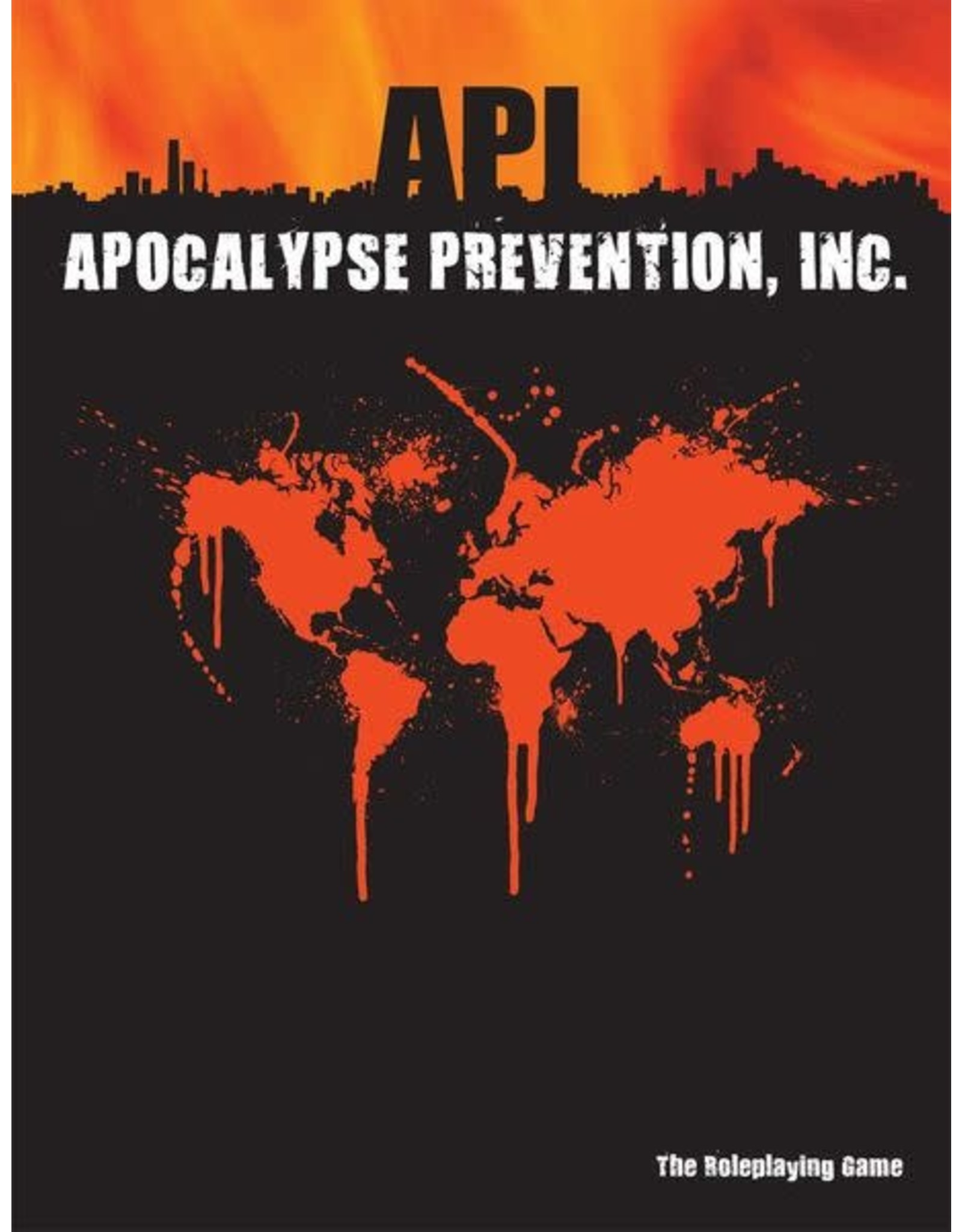 Third Eye Games Apocolypse Prevention, Inc.: Core Rulebook
