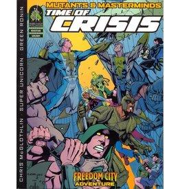 Green Ronin Publishing Mutants & Masterminds 1E: Time of Crisis