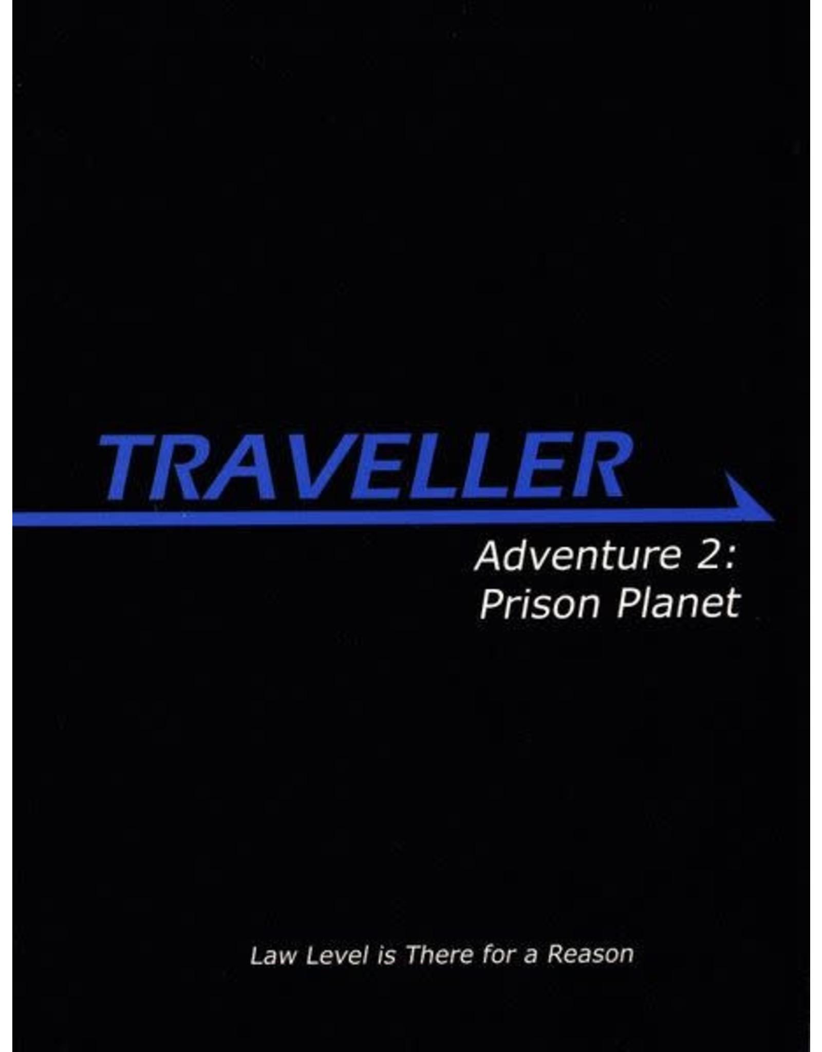 Mongoose Publishing Traveller 1E: Adventure 2: Prison Planet