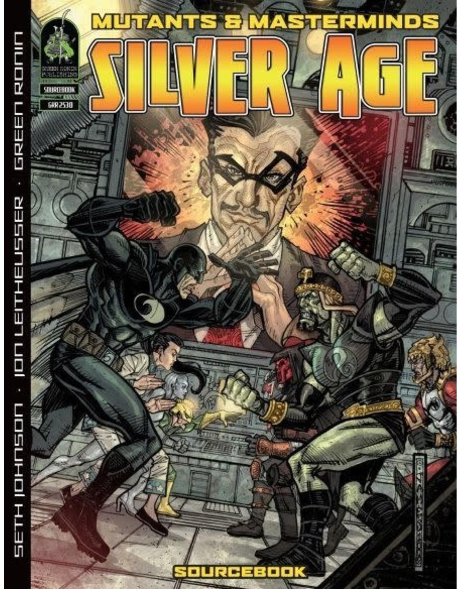Green Ronin Publishing SALE - Mutants & Masterminds 2E: Silver Age
