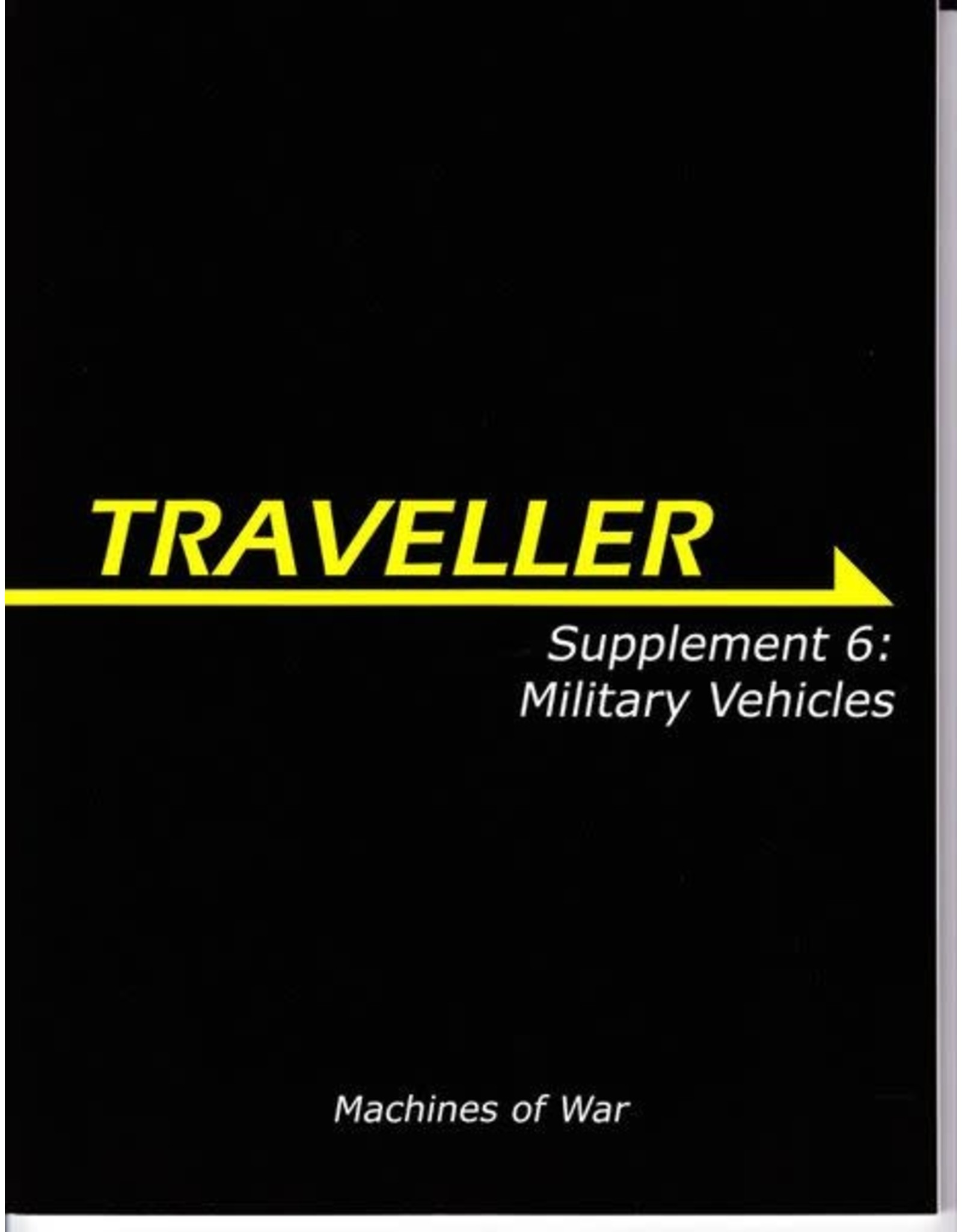 Mongoose Publishing Traveller 1E: Supplement 6: Military Vehicles