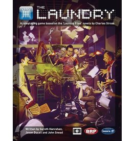 Cubicle 7 The Laundry: Core Rulebook