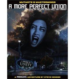 Green Ronin Publishing Mutants & Masterminds 2E: A More Perfect Union