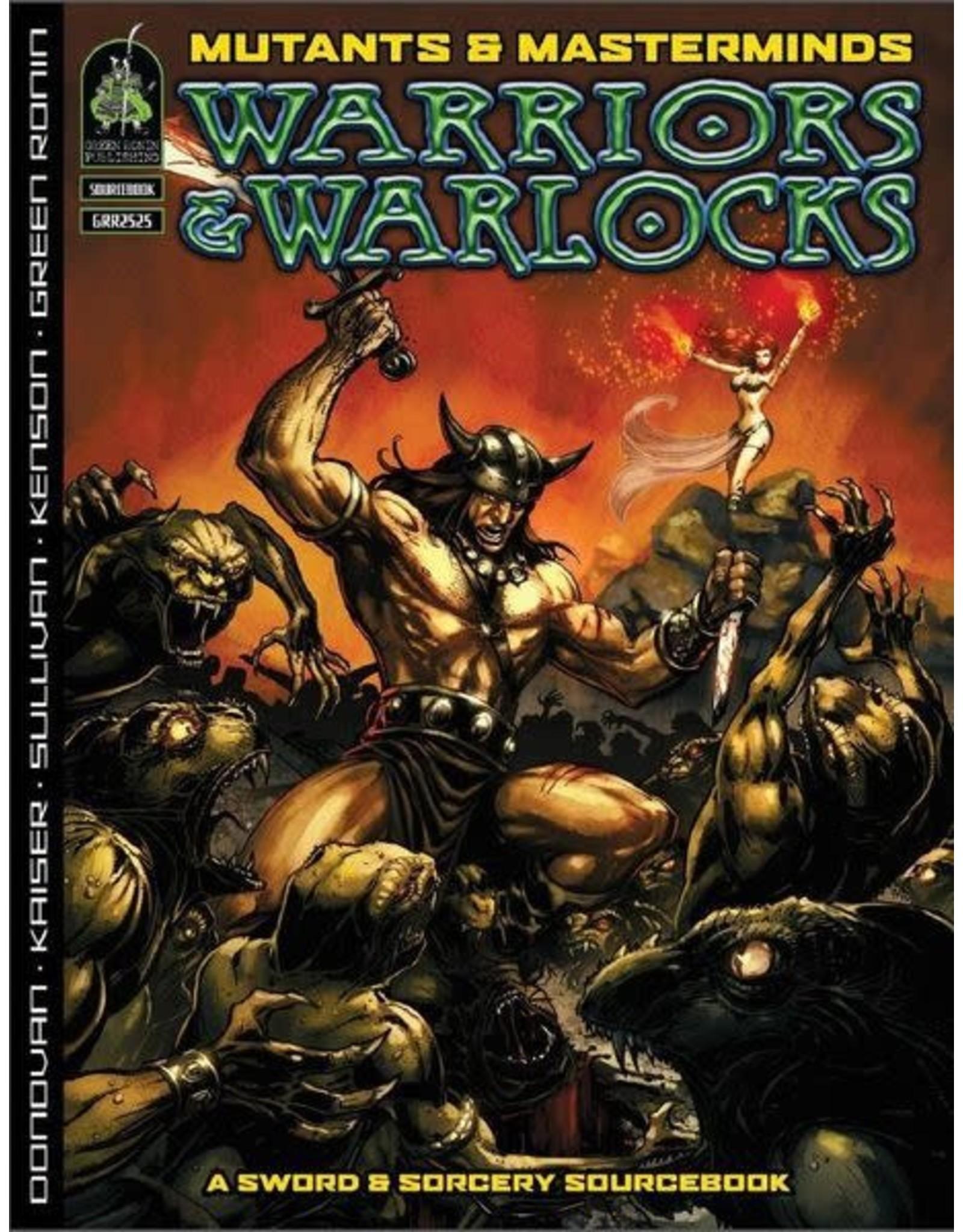 Green Ronin Publishing SALE - Mutants & Masterminds 2E: Warriors & Warlocks