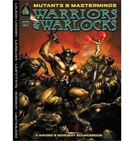 Green Ronin Publishing Mutants & Masterminds 2E: Warriors & Warlocks