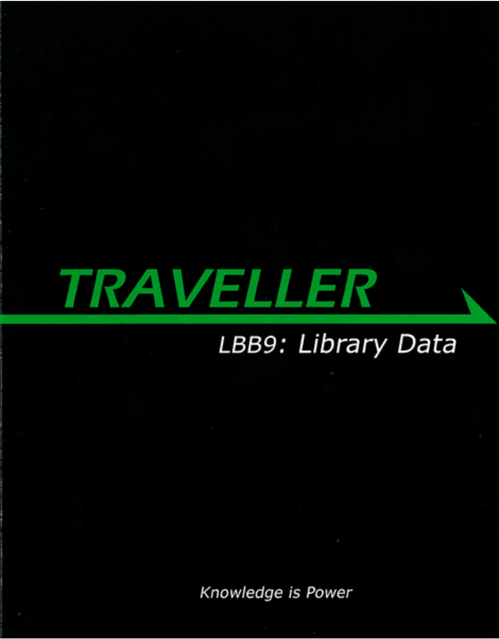 Mongoose Publishing Traveller 1E: LBB9: Library Data