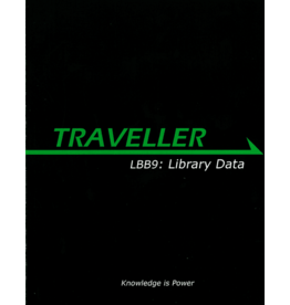 Mongoose Publishing Traveller 1E: LBB9: Library Data