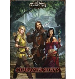 Ulisses-Spiele The Dark Eye 5E: Character Sheets