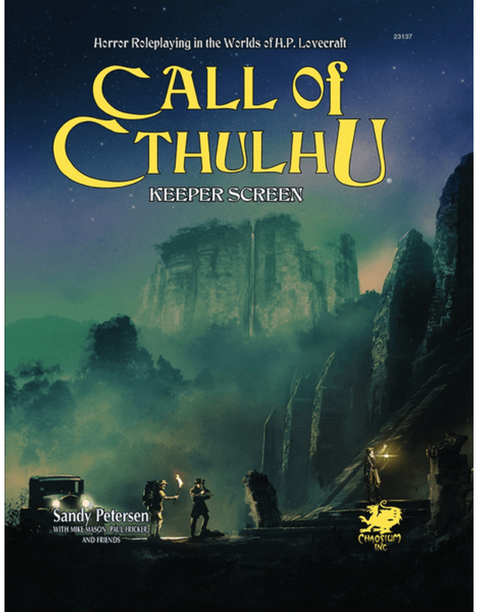 Chaosium Call of Cthulhu 7E: Keeper Screen Pack