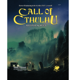 Chaosium Call of Cthulhu 7E: Keeper Screen Pack