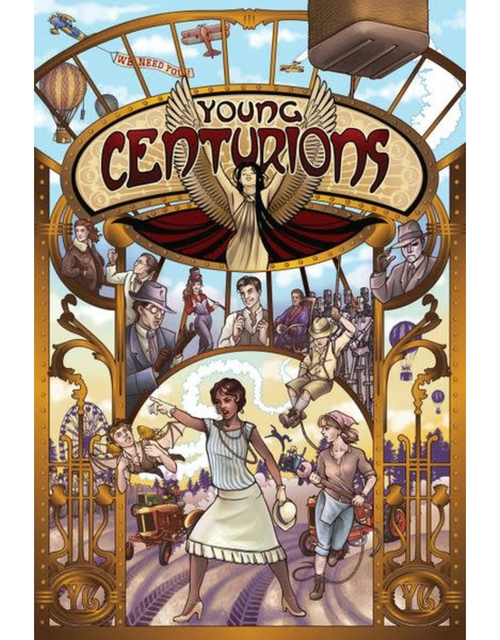 Evil Hat Productions Fate: Young Centurions
