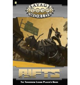 Studio 2 Publishing Savage Worlds: Rifts - The Tomorrow Legion Player's Guide
