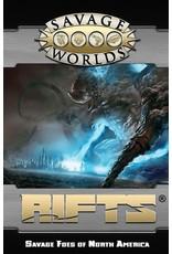 Studio 2 Publishing Savage Worlds: Rifts - Savage Foes of North America