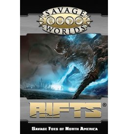 Studio 2 Publishing Savage Worlds: Rifts - Savage Foes of North America
