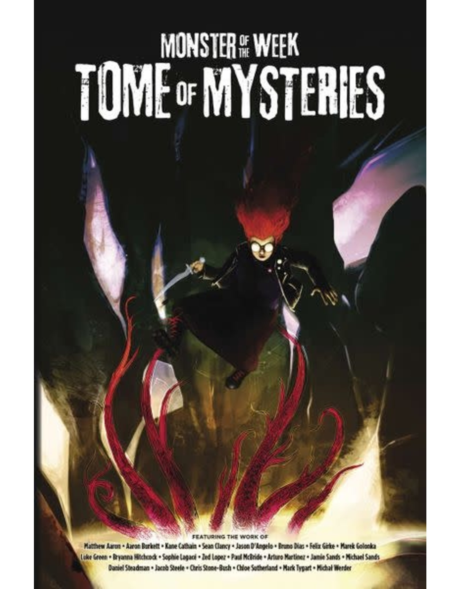 Evil Hat Productions Monster of the Week: Tome of Mysteries