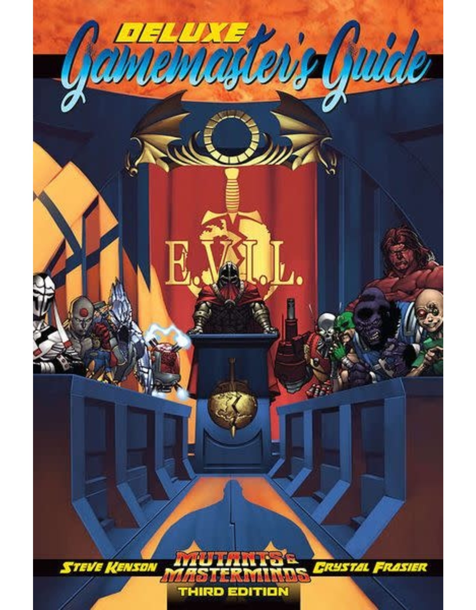 Green Ronin Publishing Mutants & Masterminds 3E: Deluxe Gamemasters Guide
