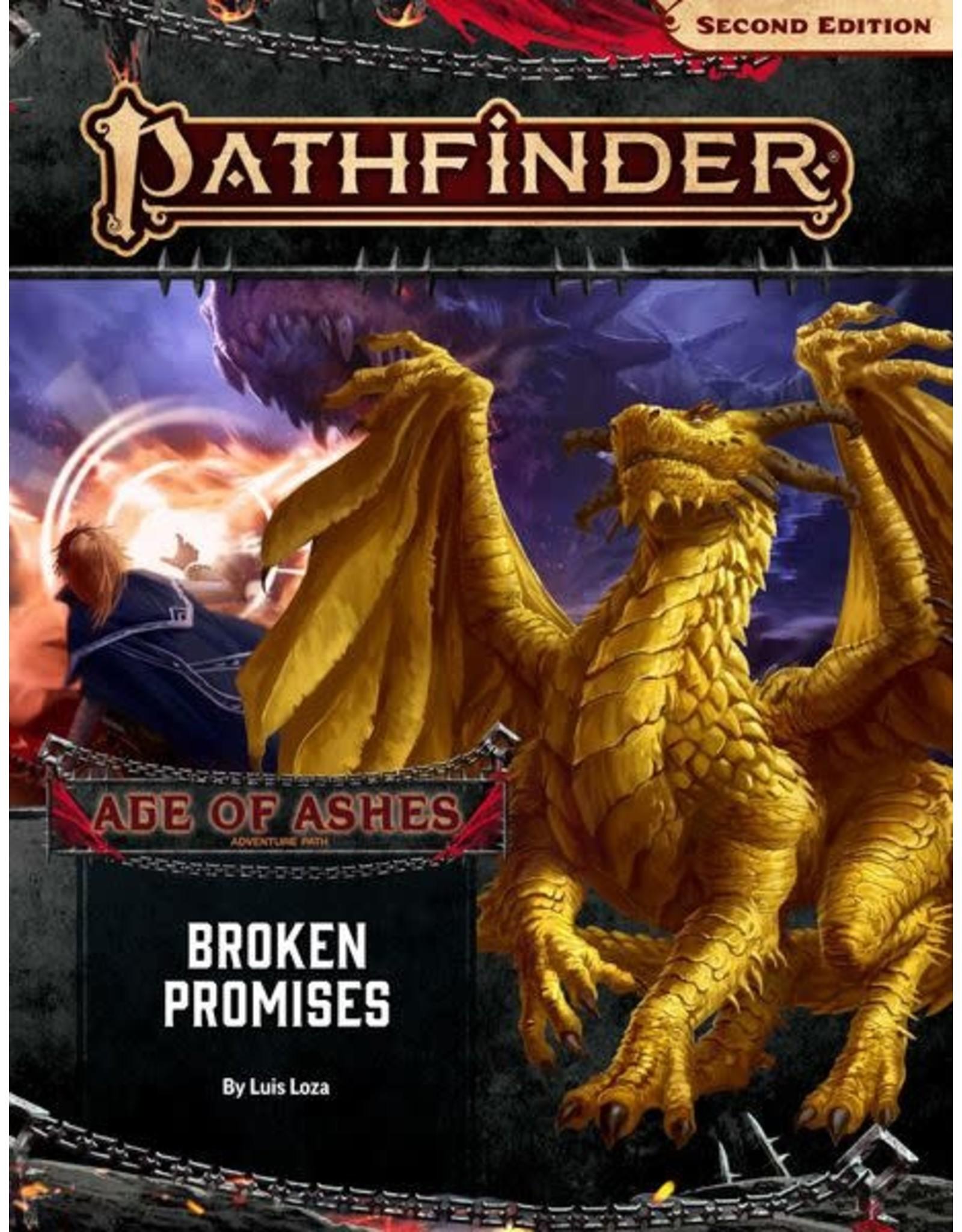 Paizo Pathfinder 2E: Age of Ashes Adventure Path