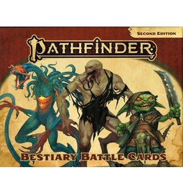 Paizo Pathfinder 2E: Bestiary Battle Cards