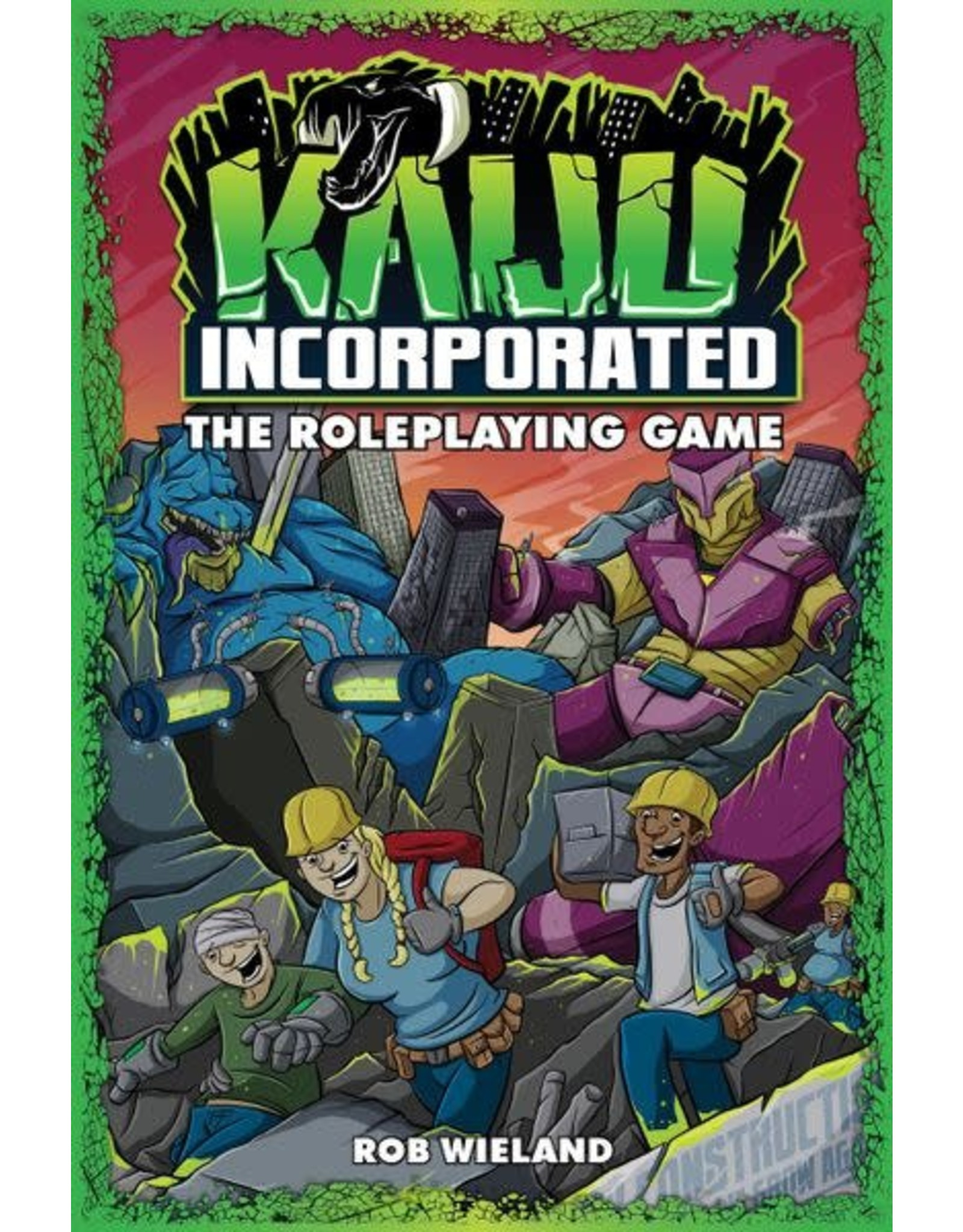 Evil Hat Productions Fate: Kaiju Incorporated