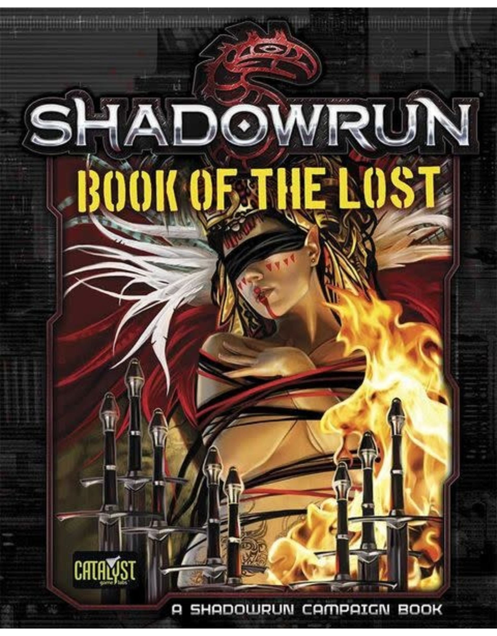 Catalyst Game Labs SALE Shadowrun 5E: Book of the Lost