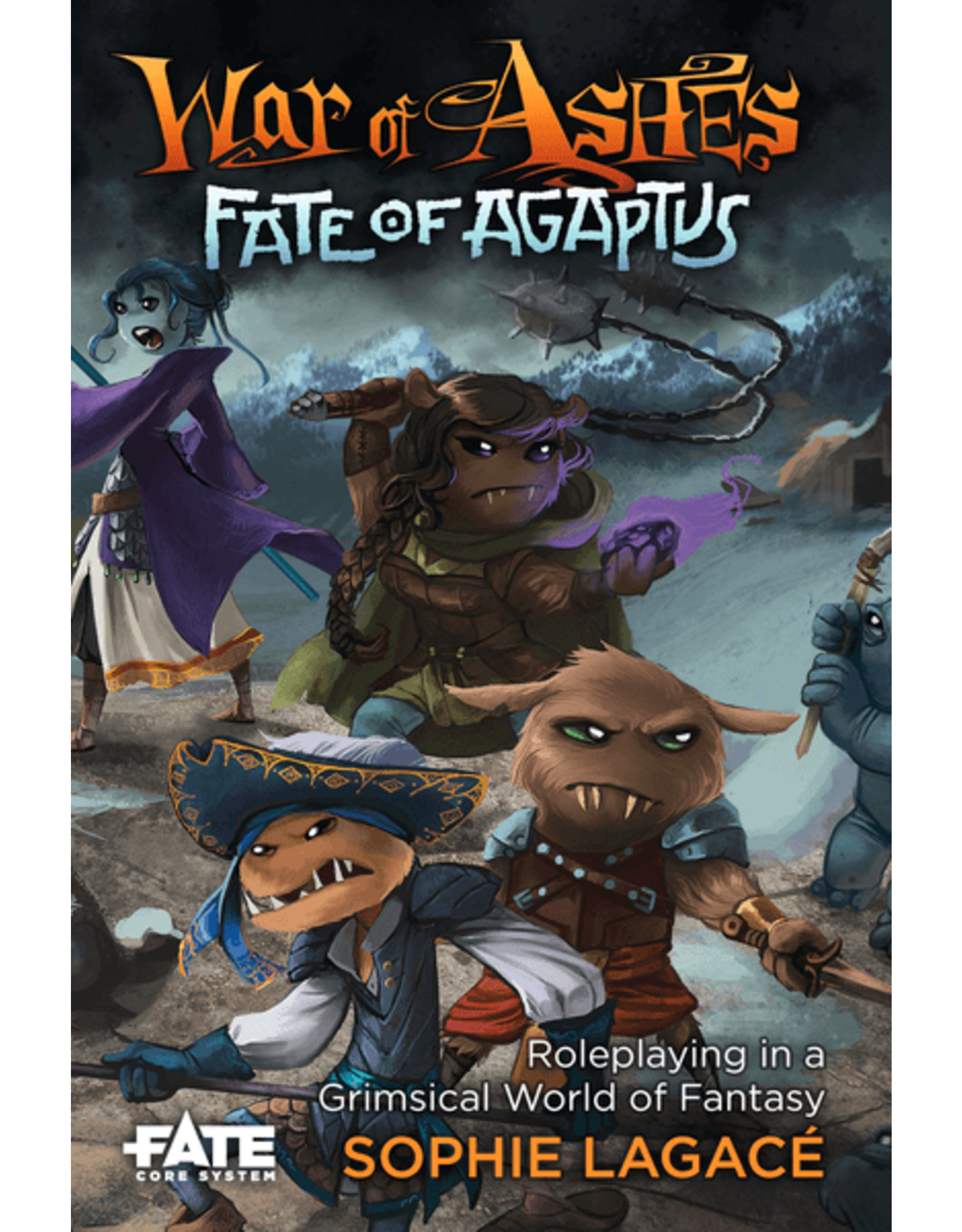 Evil Hat Productions Fate: War of Ashes - Fate of Agaptus