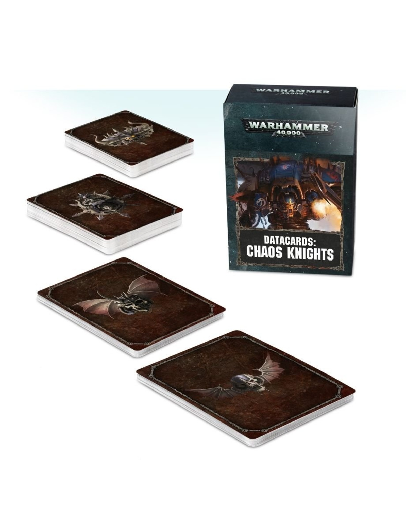 Games Workshop Chaos Knights: 8th Ed Datacards