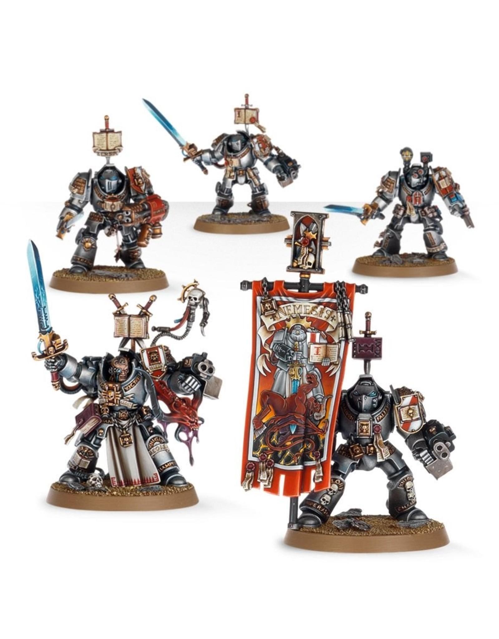 Games Workshop Grey Knight Paladin Squad