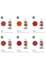 Vallejo Vallejo Model Colors: Red Shades