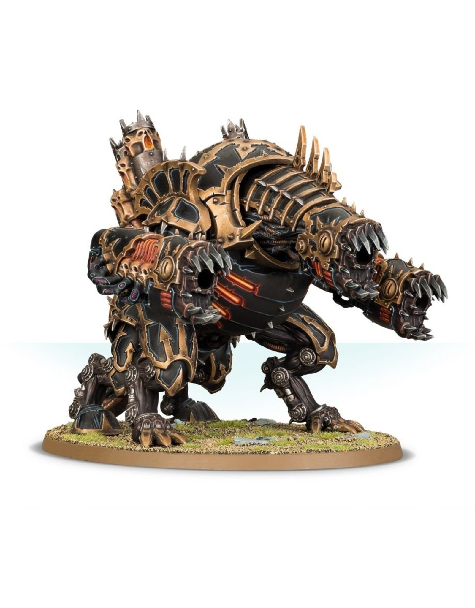 Games Workshop Chaos Space Marines:  Forgefiend/Maulerfiend