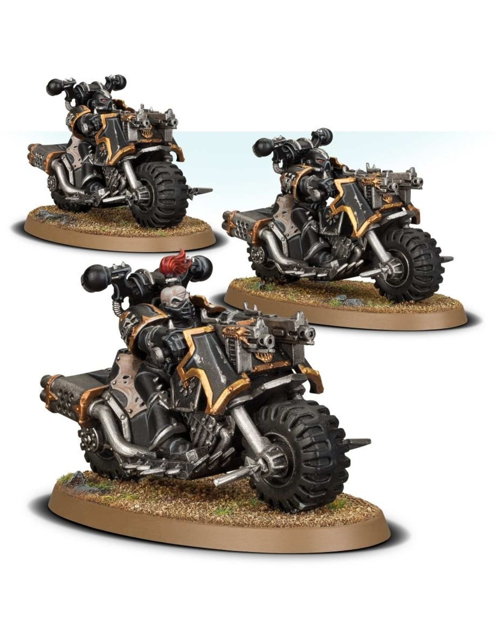 Games Workshop Chaos Space Marines:  Bike Squadron