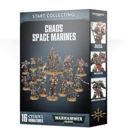 Games Workshop Start Collecting! Chaos Space Marines: