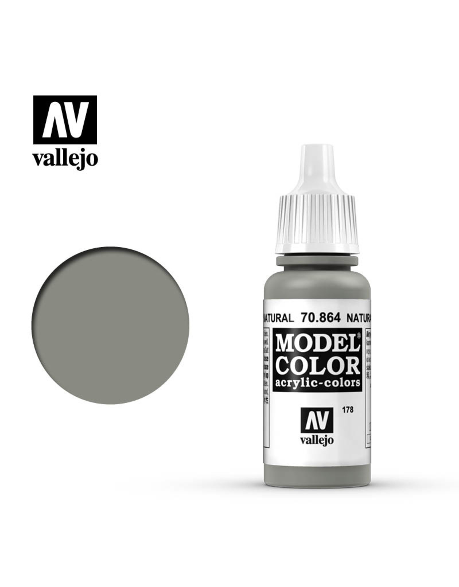 Vallejo Vallejo Model Colors: Black/Grey Shades