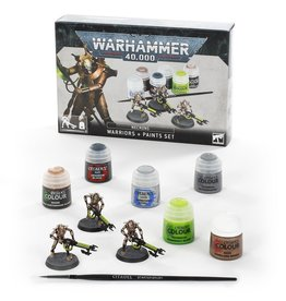 Games Workshop Necrons: Warriors + Paints Set