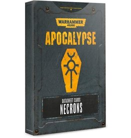 Games Workshop Apocalypse: Necrons: DataSheets