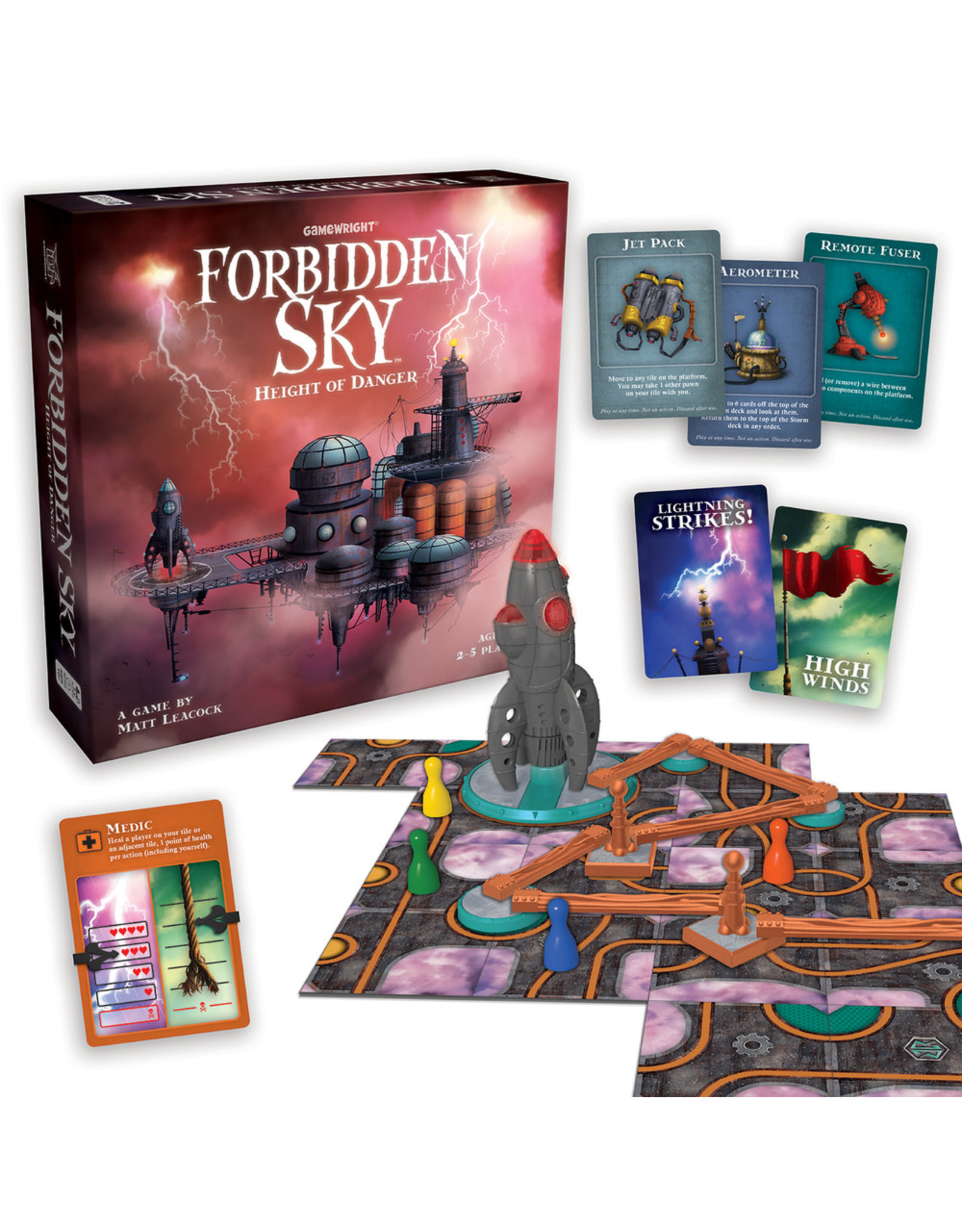 Gamewright Forbidden Sky