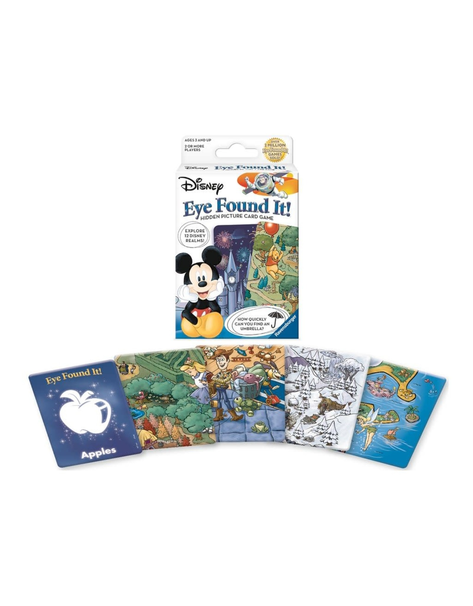 Ravensburger Disney Eye Found It! Hidden Picture Card Game