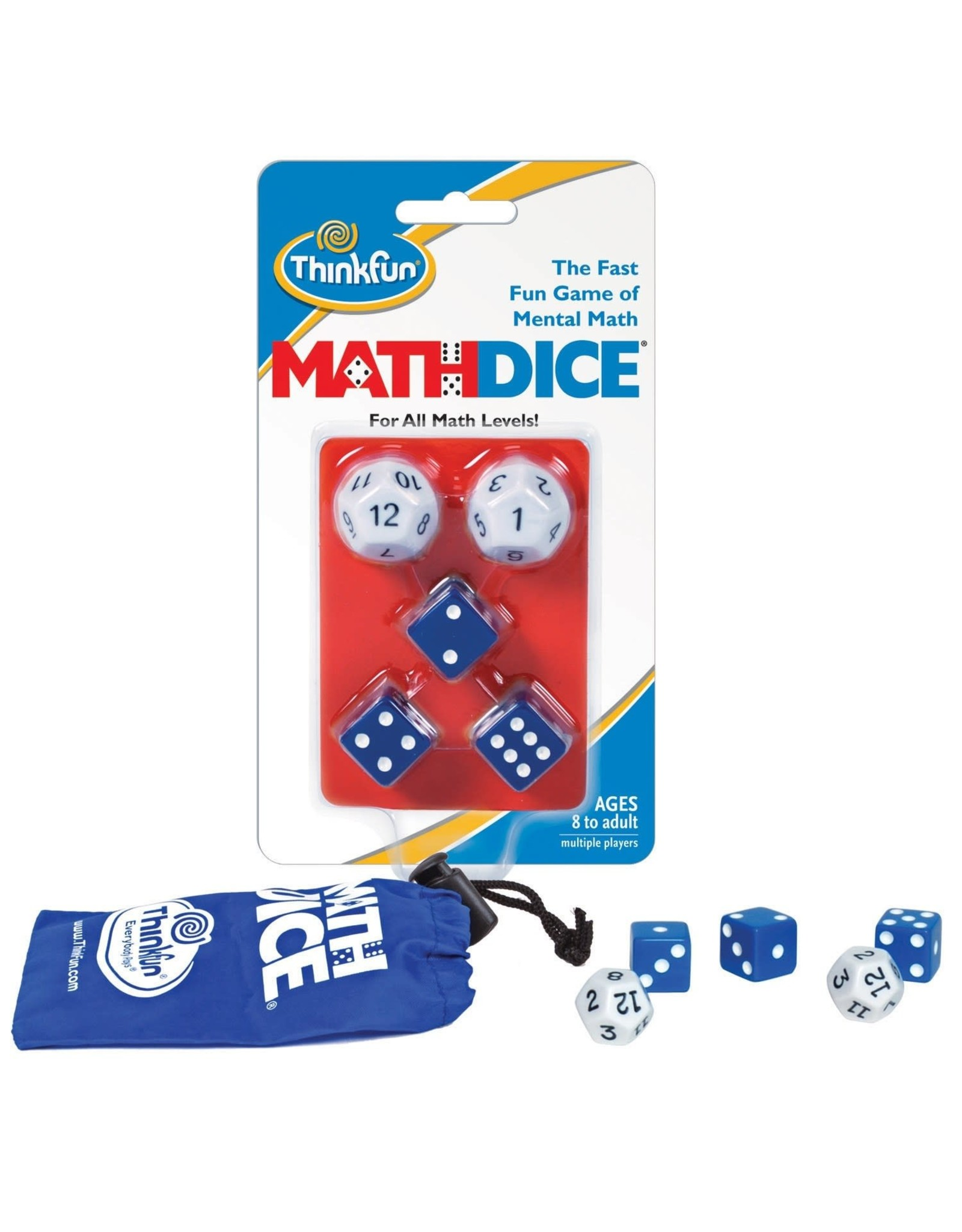 Thinkfun Inc. Math Dice