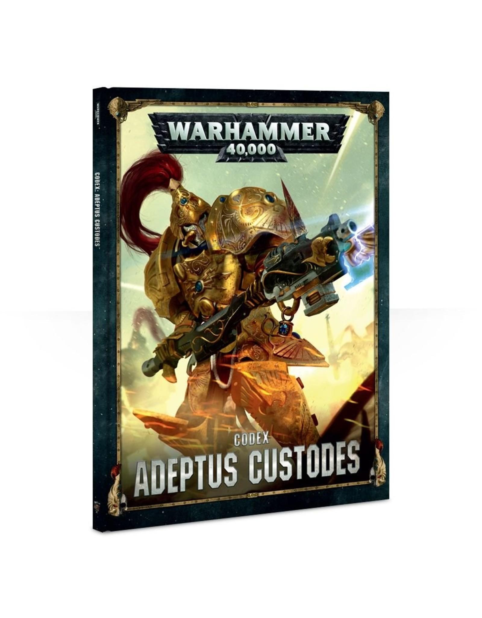 Games Workshop Adeptus Custodes: 8th Ed Codex