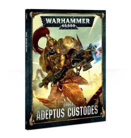 Games Workshop Adeptus Custodes: 8th Ed Codex