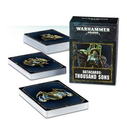 Games Workshop Thousand Sons: 8th Ed Datacards