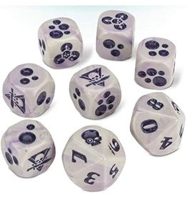 Games Workshop Kill Team: Gellerpox Infected Dice
