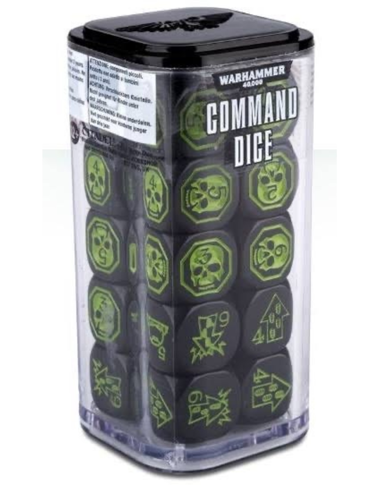 Games Workshop Warhammer 40K Command Dice