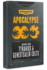 Games Workshop Apocalypse Datasheet Cards Tyranids & Genestealer Cults