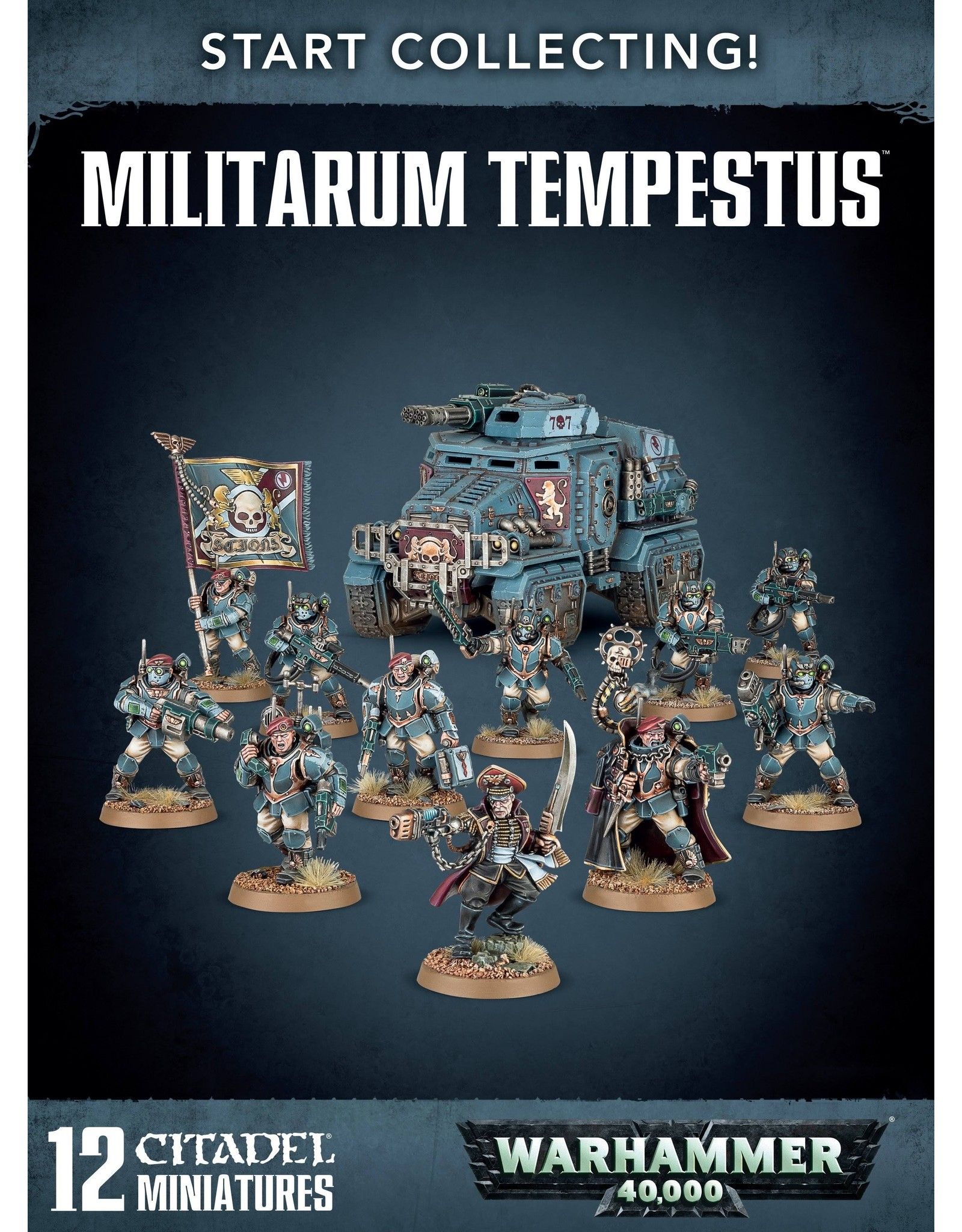 Games Workshop Start Collecting! Militarum Tempestus