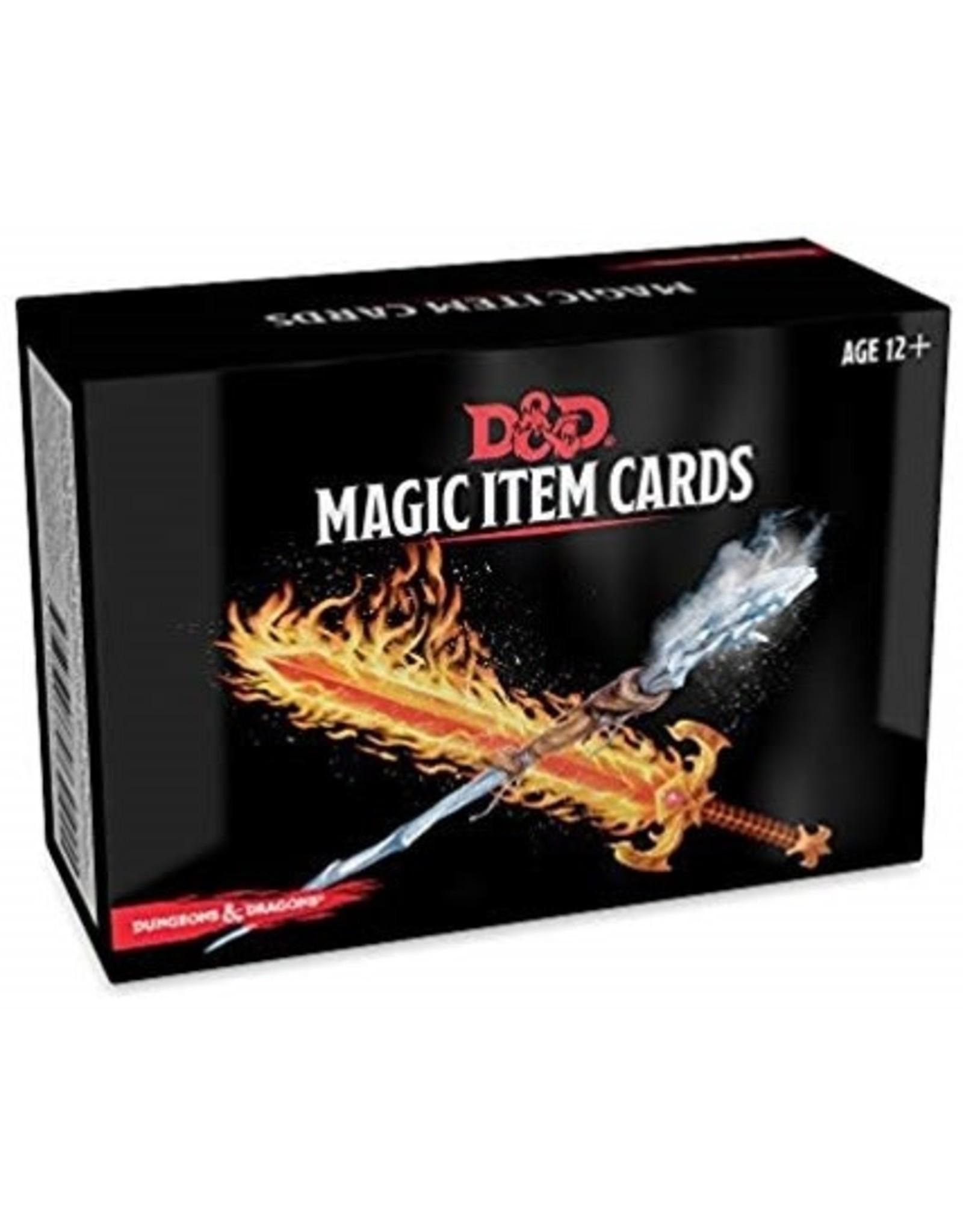 Gale Force Nine D&D 5.0: Magic Item Cards Deck