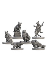 Steamforged Games LTD Animal Adventures: Tales of Cats & Catacombs