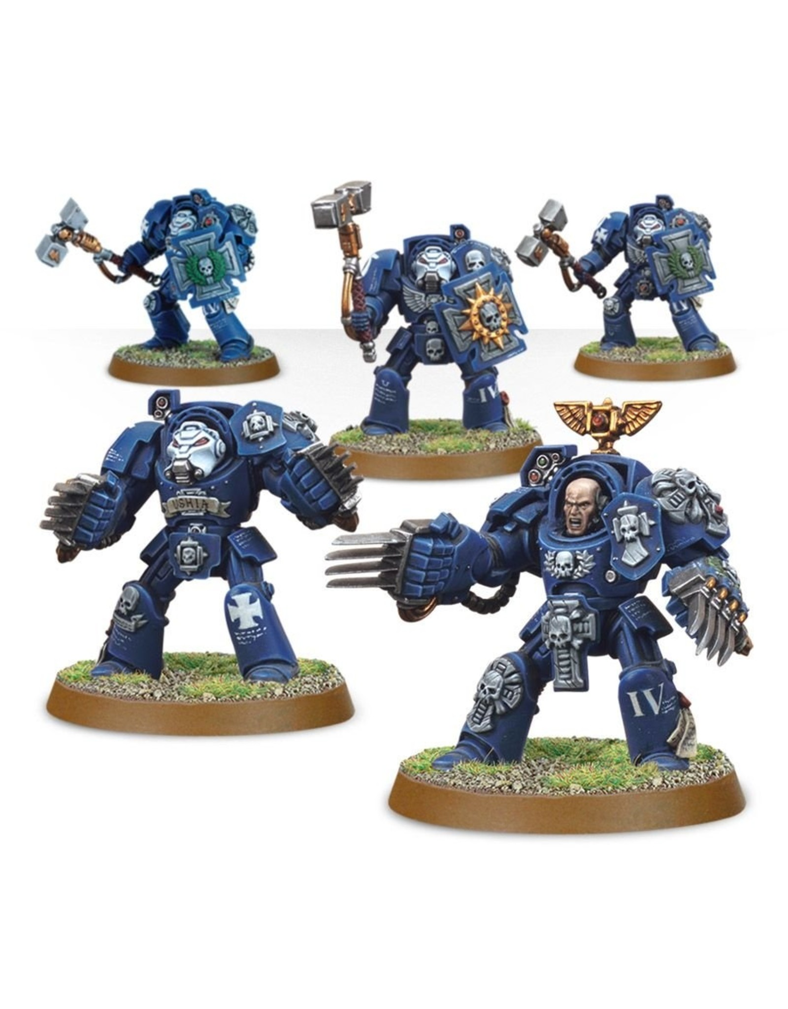 Games Workshop Space Marines: Terminator Assault Squad
