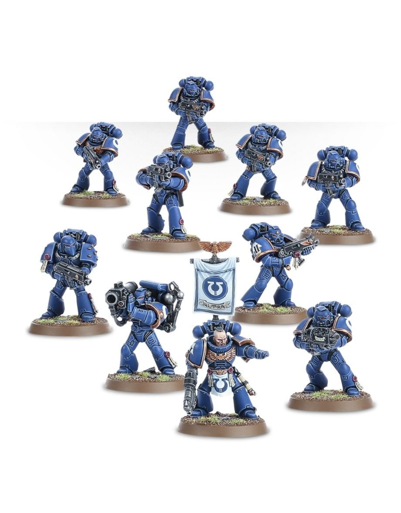 Games Workshop Space Marines: Tactical Squad